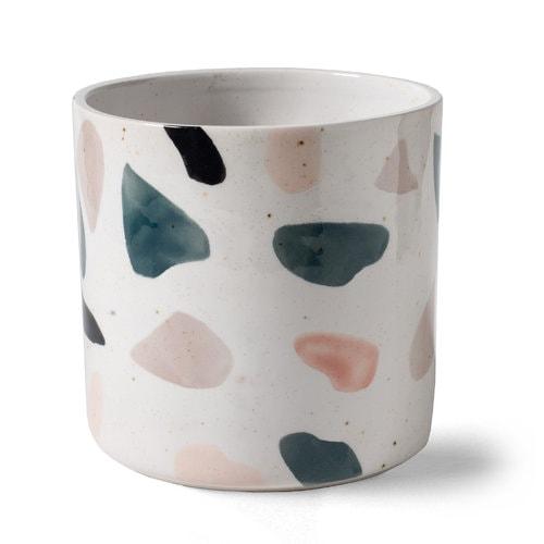 Blumentopf vase Terrazzo Rosa Lonja