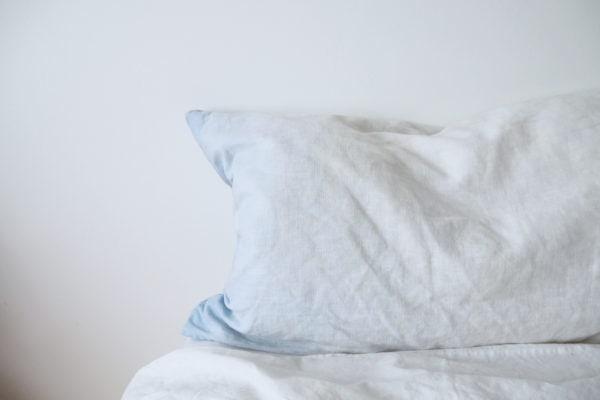 kissen kissenbezug leinen print maße individuell ombre farbverlauf verlauf ombre blau